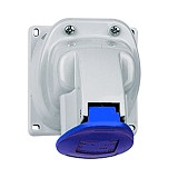 LEGRAND Surface Mounting Socket 2P+E - 32A 200/250V P17 Tempra IP44 [55373] - Stop Kontak In Bow